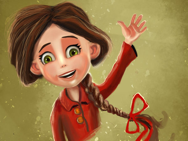 Paint a Cute Little Girl in Adobe Photoshop