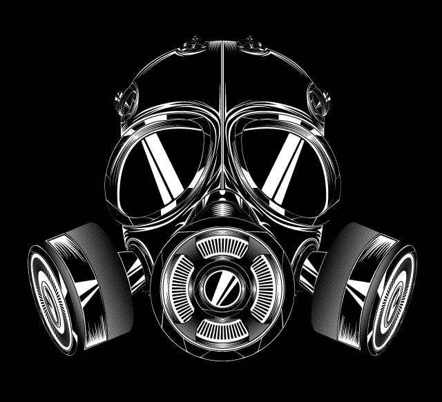 Create A Gas Mask In Illustrator Tutorial