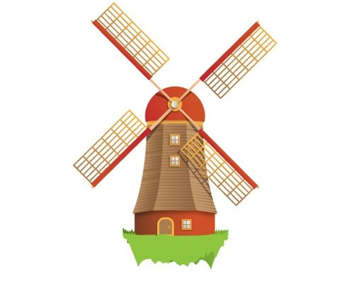create windmill in adobe illustrator tutorial