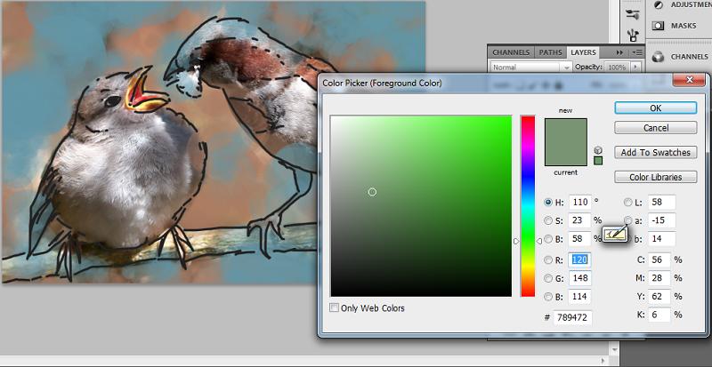 Digital Painting Photoshop Tutorial