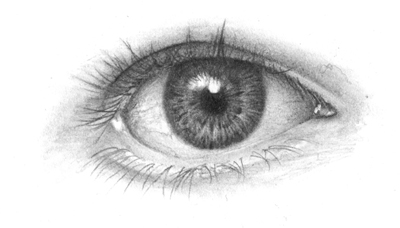 Detailed Tutorial on Drawing Human Eye