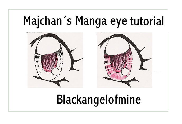 Manga Eyes Tutorial