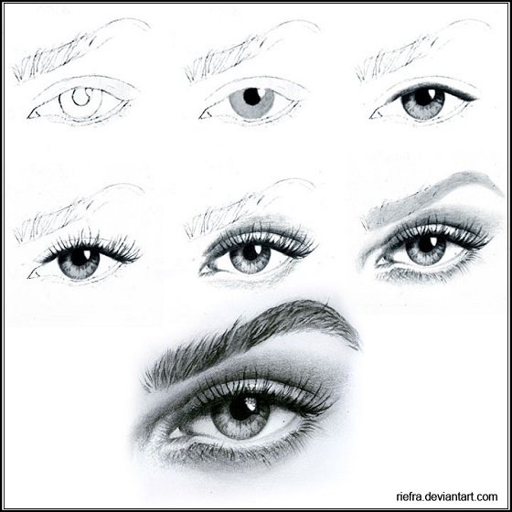 Traditional eye tutorial