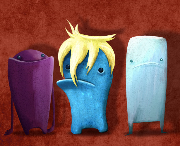 Create monstrous characters in Illustrator CS5