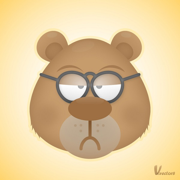 Create the Face of a Grumpy Bear