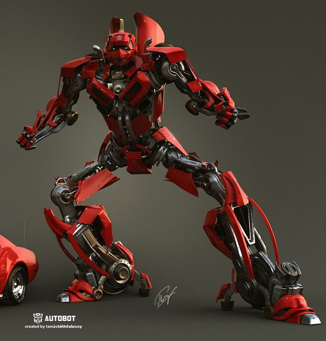 Create 3D Auto Bot Tutorial
