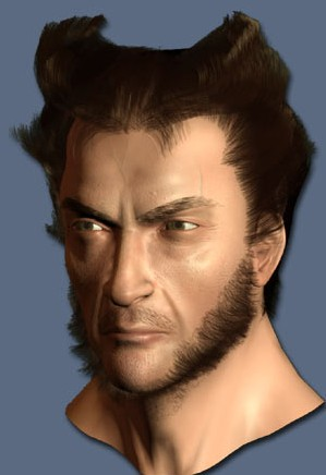 creating wolverine in 3d tutorial