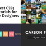 CSS3 Tutorials for Web Designers