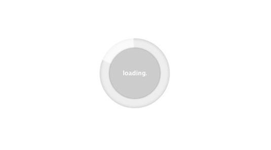 loading spinner using css3 tutorial