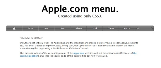 tutorial-apple-menu-css3