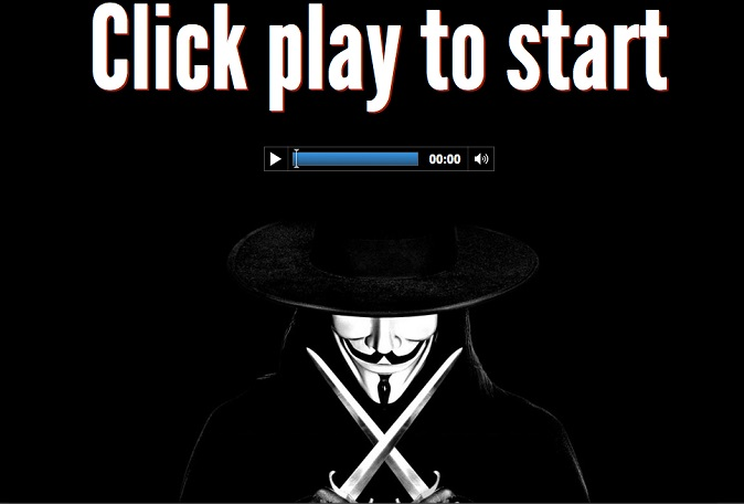 v for vendetta css kinetic typography video