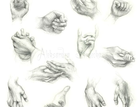 Best Collection of Step by Step Tutorials on How to Draw Hands