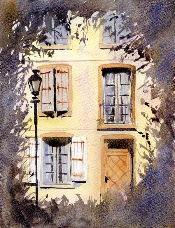 Watercolor Painting Tutorial Step by Step by Allan Kirk