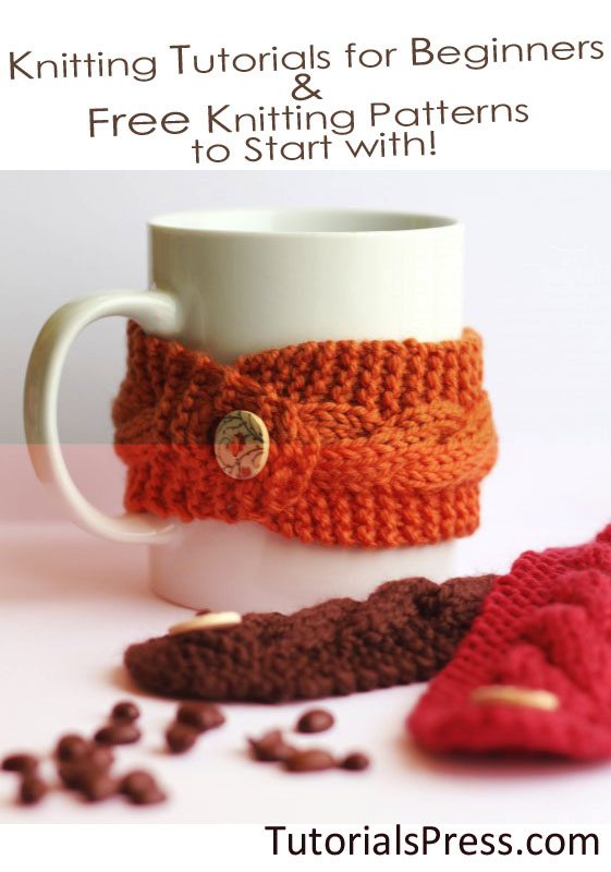 Knitting Patterns Or Beginners : Knitting Video Tutorials for Beginners and Free Knitting ...