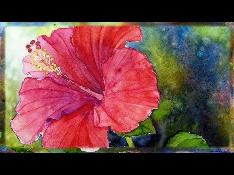 Some amazing step by step watercolor painting tutorials for How to use watercolors for beginners