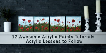 12 Awesome Acrylic Paints Tutorials - Acrylic Lessons to Follow