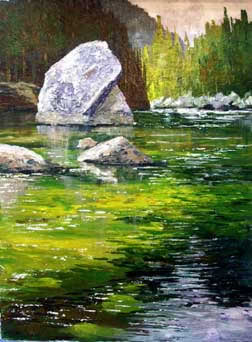 Awesome acrylic painting tutorials- plein air painting