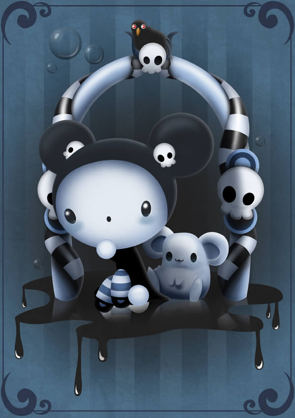 Childrens Book Illustration Tutorials- scary