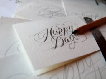 Cool Tutorials To Improve Your Hand Lettering- diy hand lettering