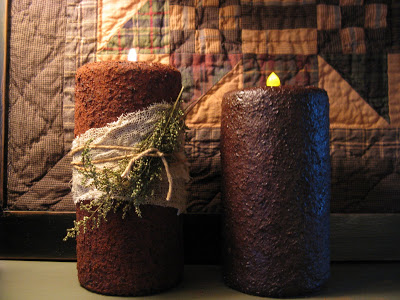 Cool and Grunge DIY Recyled Tutorials- grunge candle tutorials