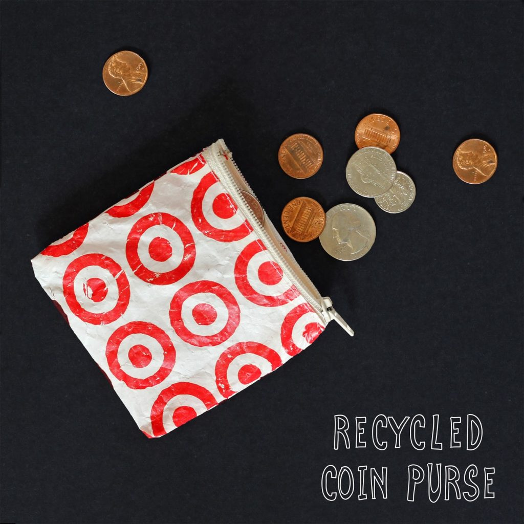 Cool and Grunge DIY Recyled Tutorials- recycled coin purse