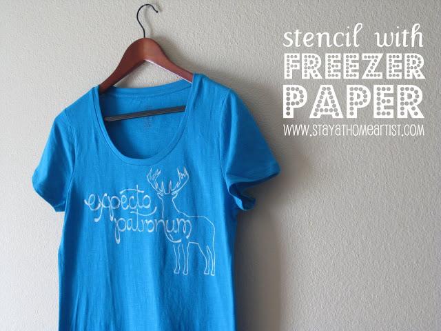 DIY T shirt frezzer paper
