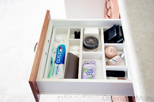 DIY drawer organiser