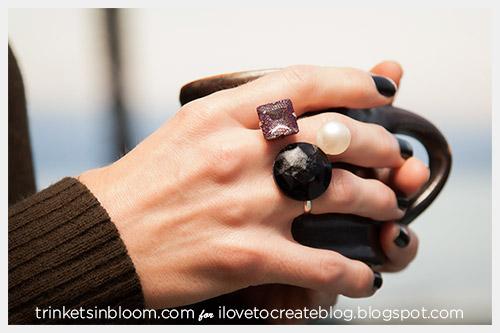 DIY multi finger ring