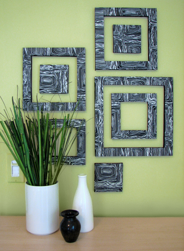 DIY patterned squares