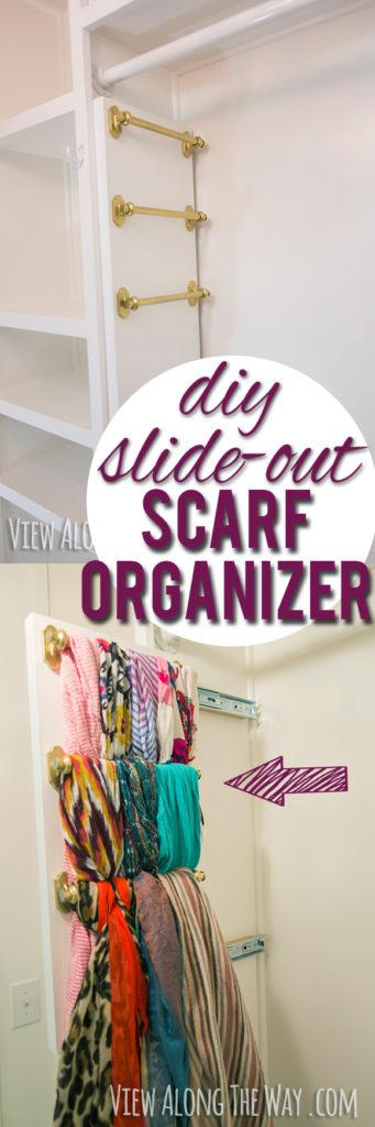 DIY_slide_out_scarf_organizer