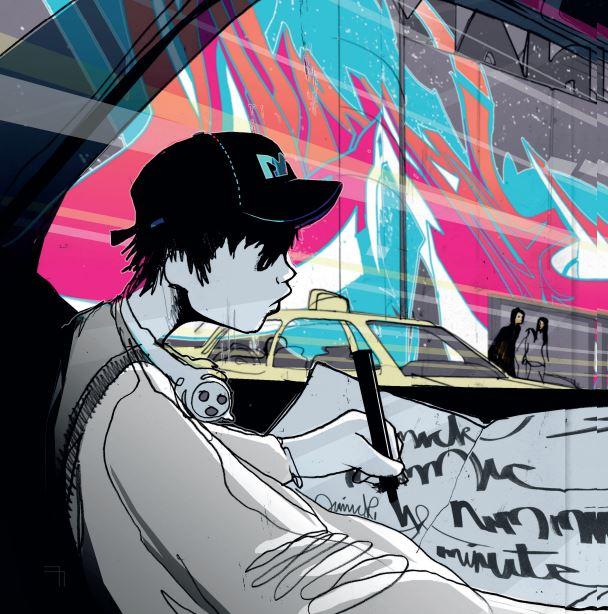 Graffiti Photoshop Illustrator Tutorial- create graffiti fonts