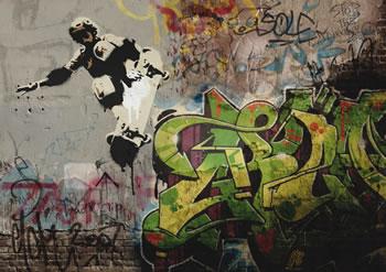 Graffiti Photoshop Illustrator Tutorial- paint digital graffiti