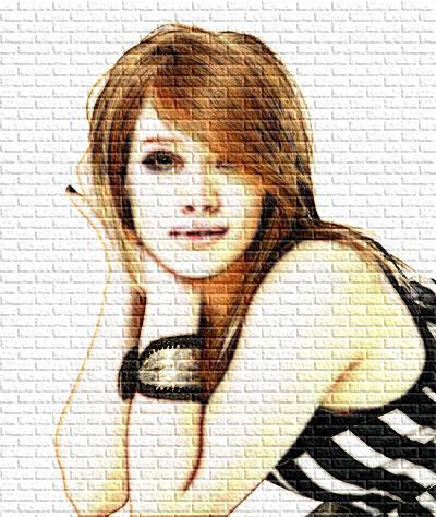 Graffiti Photoshop Illustrator Tutorial-portrait graffiti