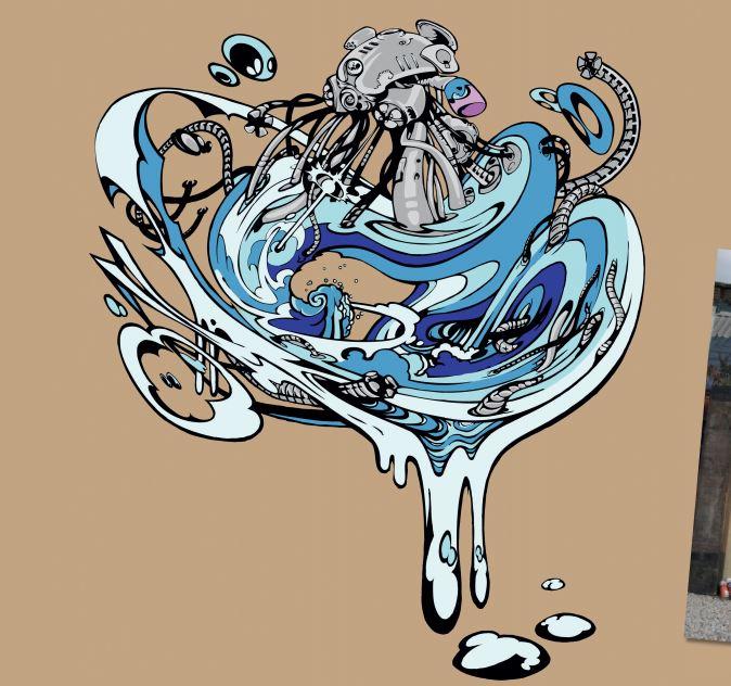 Graffiti Photoshop Illustrator Tutorial- preparing artwork