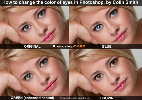 Photoshop Eye Editing-change colour