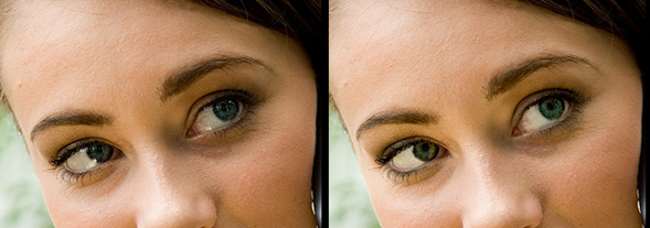 Photoshop Eye Editing- realistic