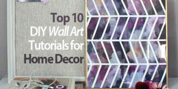 Top 10 DIY Wall Art Tutorials for Home Decor