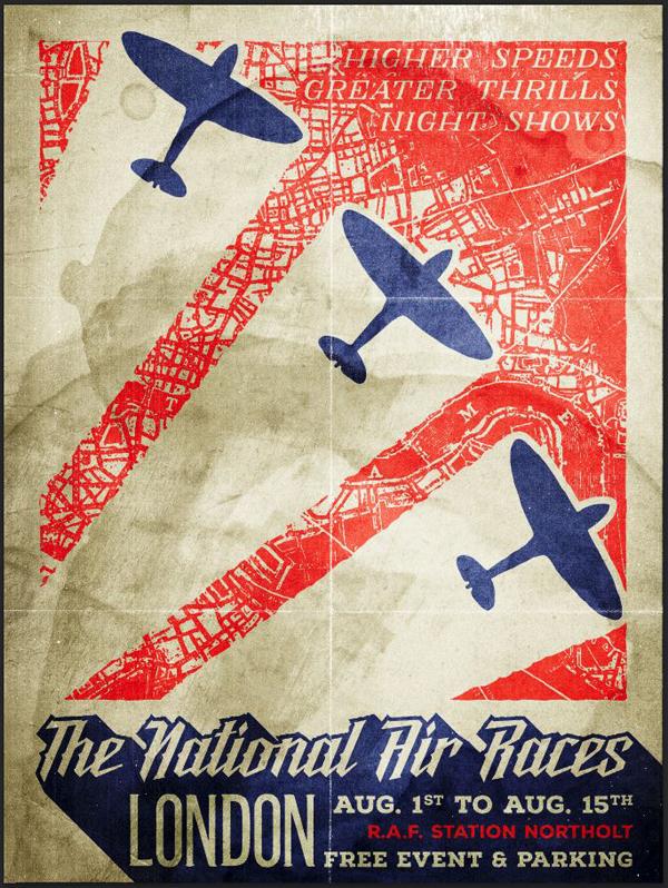 Brilliant Poster Designing Tutorials- gritty vintage poster
