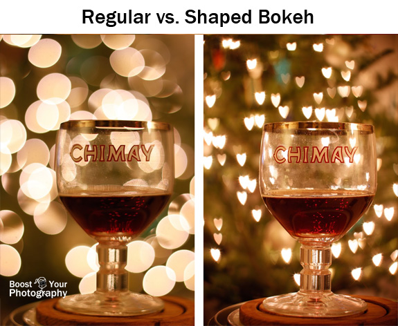 Night Photography Tutorials- shaped bokeh