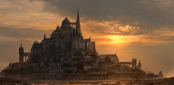 Photo Manipulation Photoshop Tutorials- fantasy city