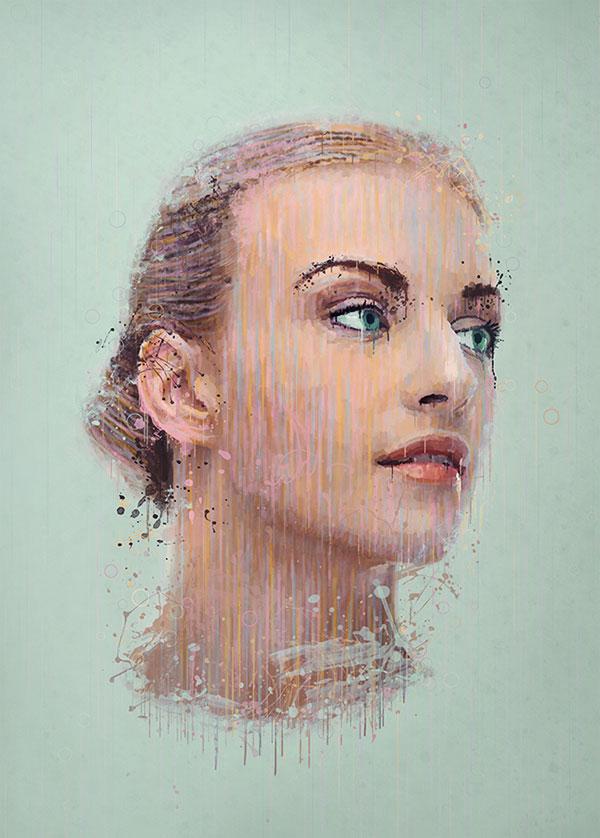 Photoshop Photo Effect Tutorials- Splatter