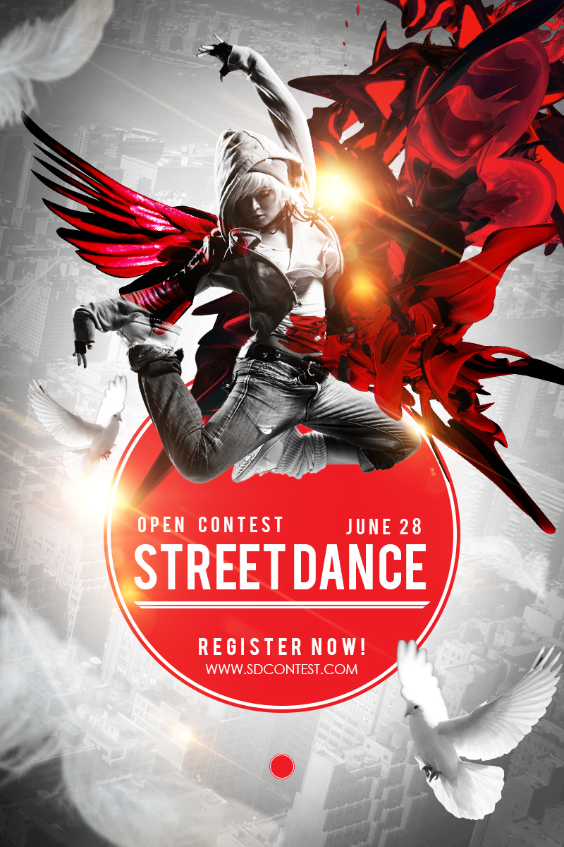 Poster Designing Tutorials- Street dance