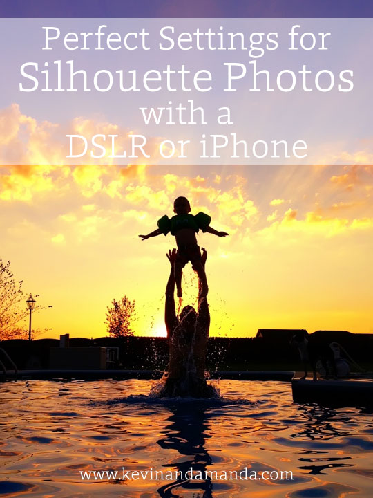 Silhouette Photography Tutorials- settings