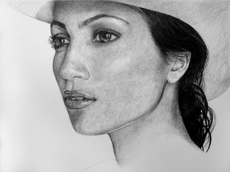 Tutorials to create hyper realistic drawings photorealistic portrait