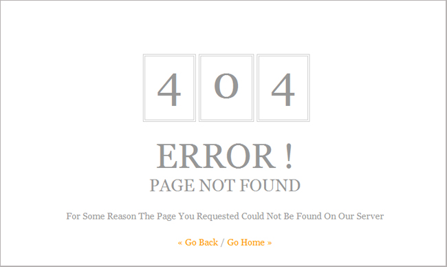 29 Error 404 Page Not Found Free Templates That Show State-of-Art ...