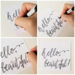 calligraphy tutorials