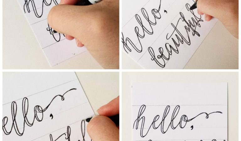 Improve Your Handwriting With These 13 Calligraphy Tutorials
