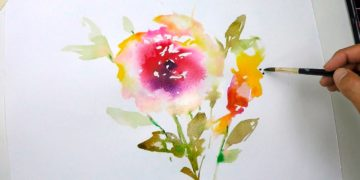 watercolors tutorials